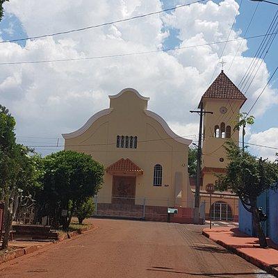 Capela no Distrito Espírito Santo, em Londrina, Paraná