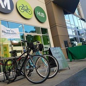 Visit us At the Metro Bike Hub in Hollywood