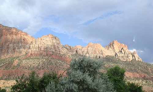 Zion National Park from Springdale
