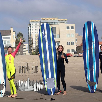 Венич Бич, урок серфинга, Лос-Анджелес, Temple Surf, Калифорния, Красота