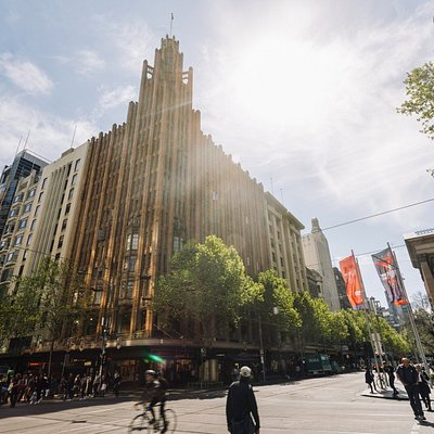 The Manchester Unity Building, Melbourne CBD