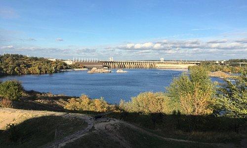 Вид на ГЭС