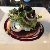 Excellent Goat's Cheese tartlet