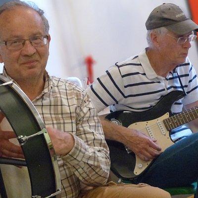 Musicians participating in the Ashford Folk Festival!