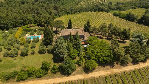 Agriturismo Villa Panorama - vista aerea