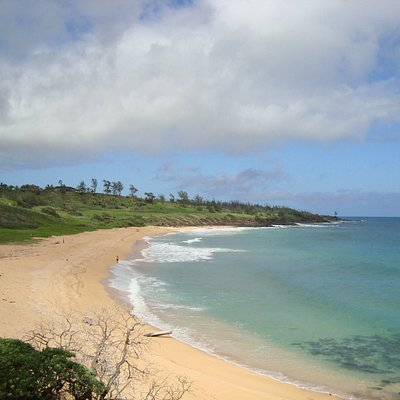Donkey Beach from the Kauai Path