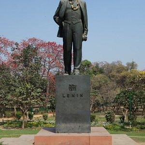 Lenin In Nehru's Park