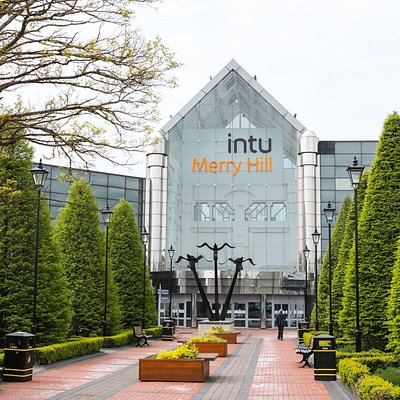 intu Merry Hill - Flying Anvils entrance
