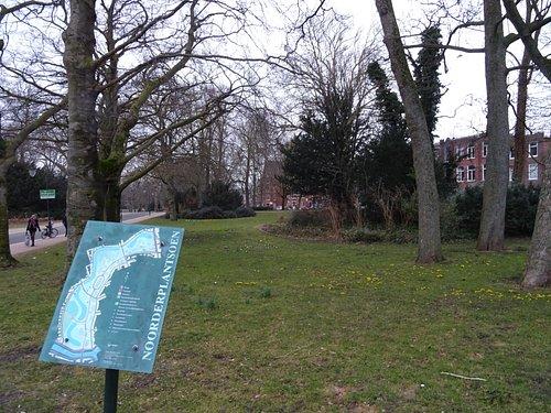 Noorderplantsoen ; door landschaps architect H.Copijn 1879-1881