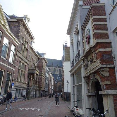 Poortje; st Janstraat 54 Haarlem