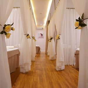 Huge Spa Room that is perfect for a spa party with friends yet still enjoy your own private spac