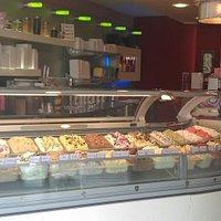 La gelateria!