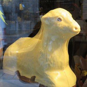 Chocolate Easter Lamb