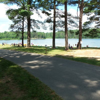 Buck Lake Beach at Almon Park