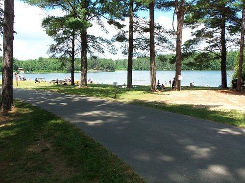 Buck Lake Beach at Almon Park