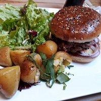 Plat : burger savoyard