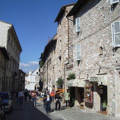 Ad Assisi, a pochi metri dalla Basilica di San Francesco
