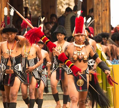 From our tour to Hornbill Festival Nagaland (Land of Tribes and Festivals). PC- Dr. Sarah Richar