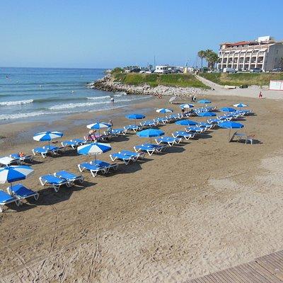 I lettini in spiaggia