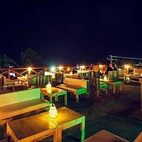 Tapas menu every night on the roof bar