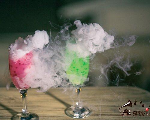 swing cocktail bar molecular cocktails