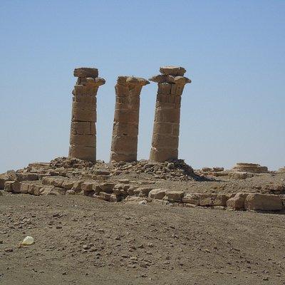 pozostałości świątyni Aton