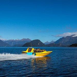 Pure Wilderness Jet Boat Tour through Fiordland