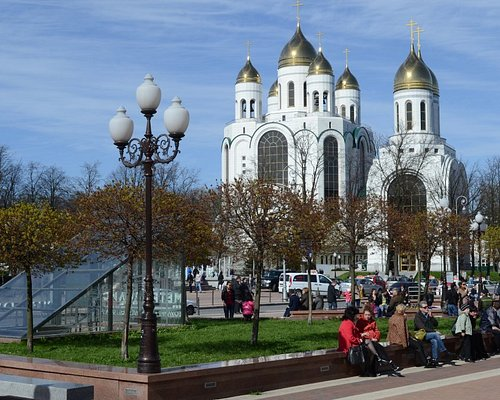 Храм Христа спасителя в Калининграде.