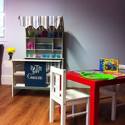 Lovely upstairs children area on our mezzaine floor