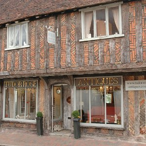 Our very old and wonderful antiques shop