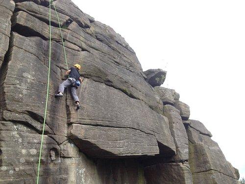 Intermediate climbing courses