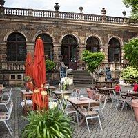 Alte Meister Restaurantterrasse
