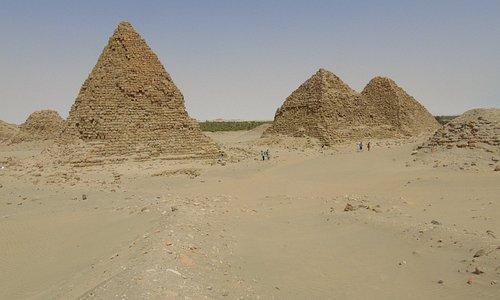 Piramidy w Nuri