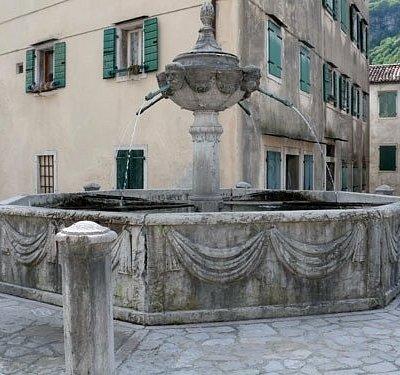 La fontana di Castellavazzo