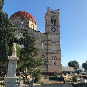 Ekklisia Isodia Theotokou Church exterior