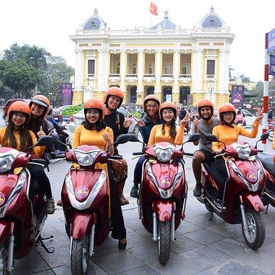 Vietnamese traditional Ao Dai(Long dress) is our uniform