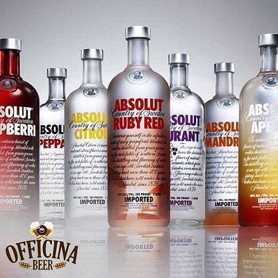 Que tal para animar a noite, uma vodka Absolut?