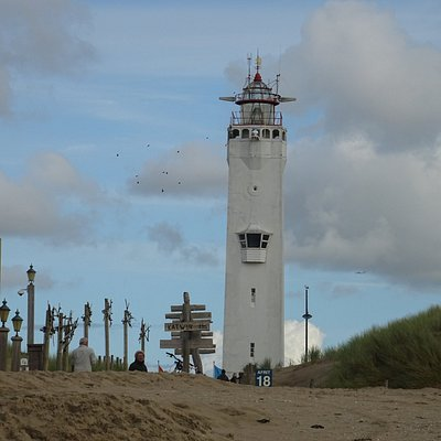 Vuurtoren Noordwijk aan Zee uit 1921(sept 2017)