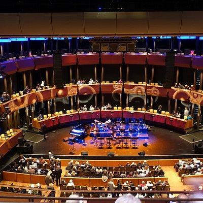 Nice sized theatre.