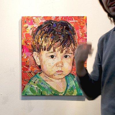 Выставка Казанского художника Славы Зайцева