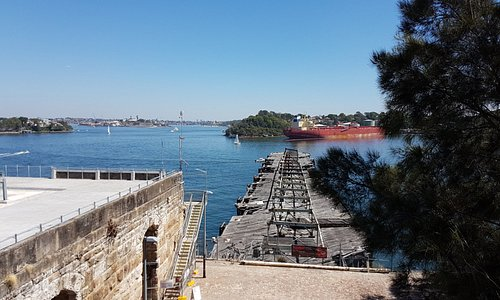 The Old Wharf, the Coal Loader and Sydney Harbour