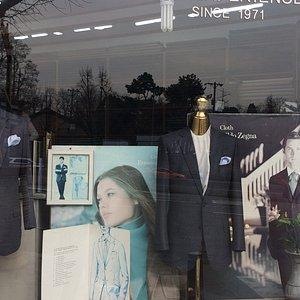 Savile Row: Storefront Window