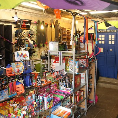 Totally Awesome - The inside of our store including a shot of the TARDIS