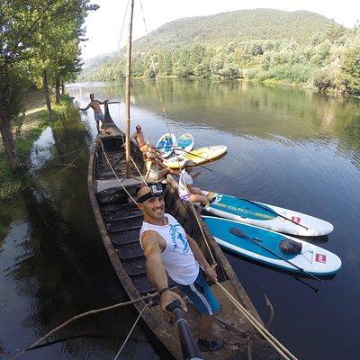 Exploring Mondego river