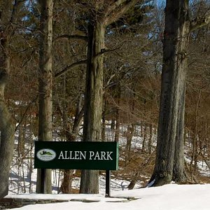 Beautiful Allen Park in Jamestown NY. Photo by Sandy Robison