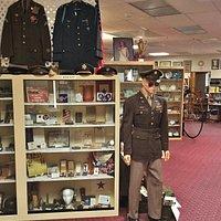 Museum military display
