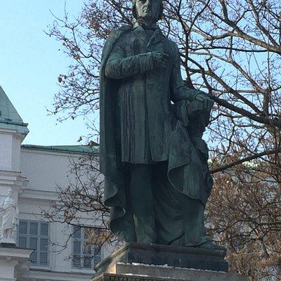 Statue of Josef Ressel