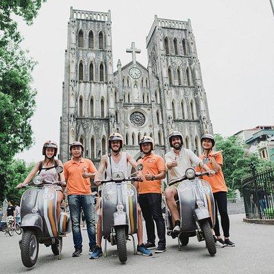Vespa Adventures Hanoi