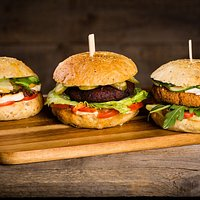Our burgers to fulfill your vegetarian desire :)
