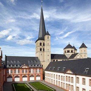 Abtei Brauweiler - Prälaturhof. Foto: S. M. Wolf (LVR-ADR)